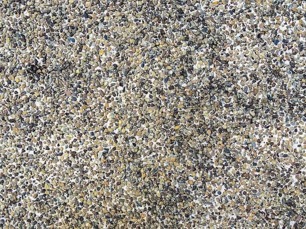 砂利テクスチャ表面