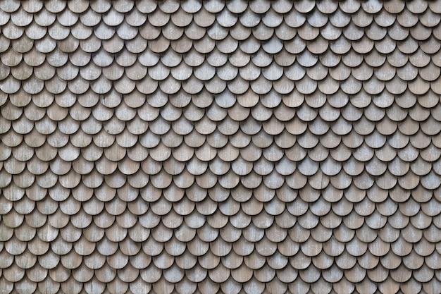 木の屋根のテクスチャの背景