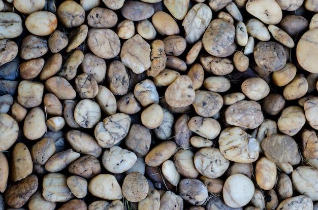 Камни с размытым фоновым рисунком
