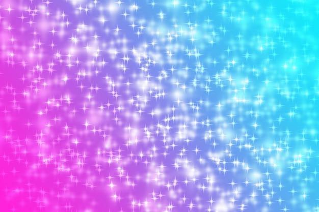 抽象的な輝きの明るい背景ピンクの青色の勾配
