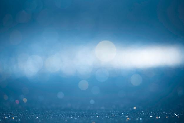 キラキラビンテージライトの背景。背景のボケ味の抽象的なライト