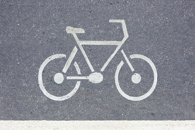 Велосипед дорожный знак