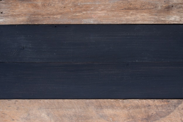 古い木材の背景。上面図