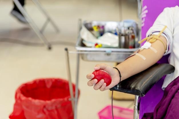 献血の写真