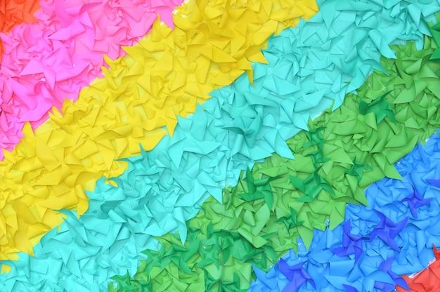 カラフルな紙の背景