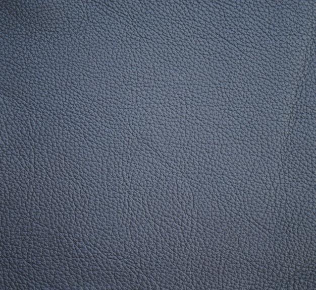 ネイビーブルーの革の質感の背景