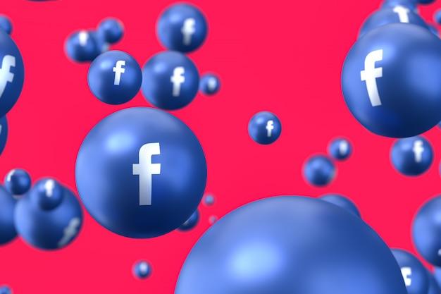Фейсбук реакции смайликов