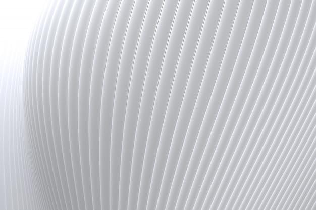 Абстрактная стена волна архитектура белый фон, белый фон для презентации, портфолио, веб-сайт