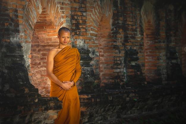 僧侶の歩み瞑想