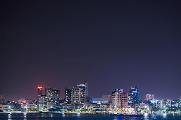 近代都市の夜景