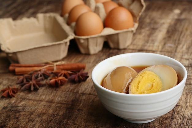 ブラウンソースの卵
