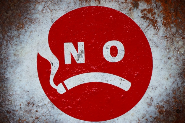 禁煙サインラベル