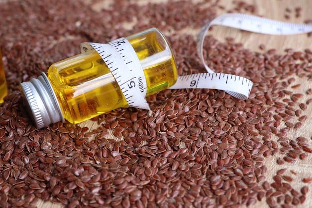 Семя льна с маслом