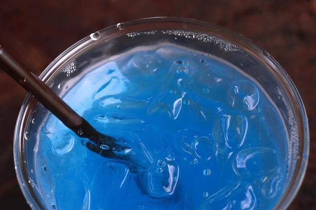 ブルーソーダ飲料水