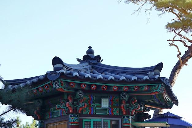 韓国の伝統建築屋根
