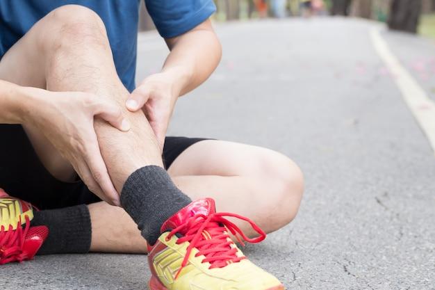 走ることによる新骨損傷、スプリント症候群
