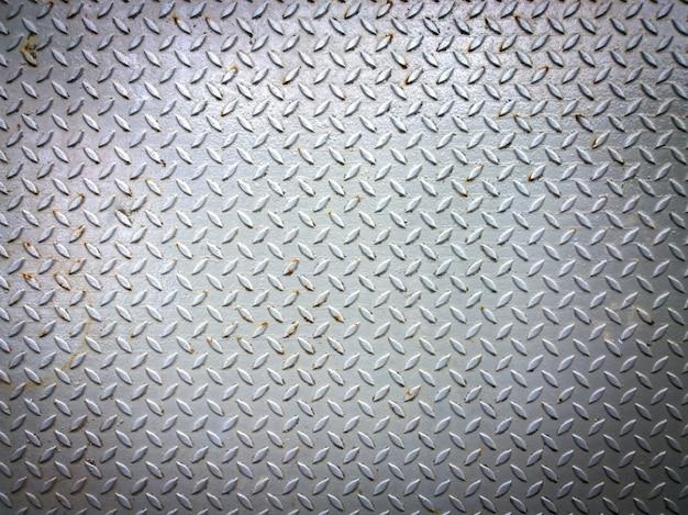 風化金属ダイヤモンドプレート、テクスチャと背景に使用
