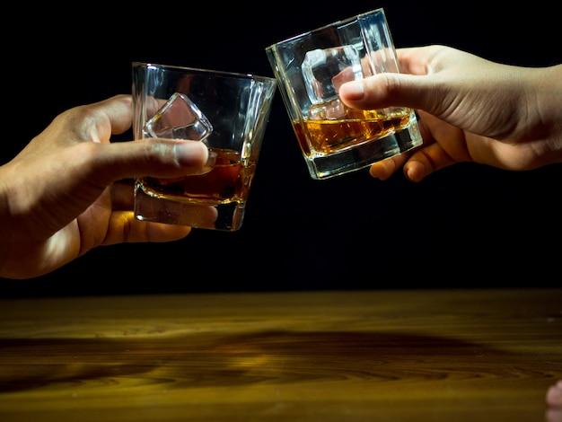 ウイスキーのお祝い