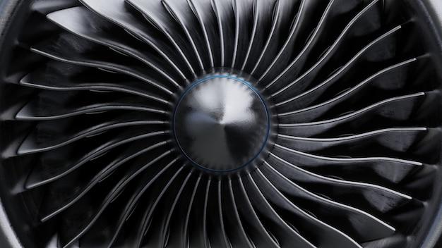 ジェットエンジンのフォントビュー。