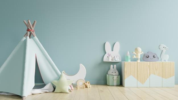 Интерьер детской игровой комнаты.