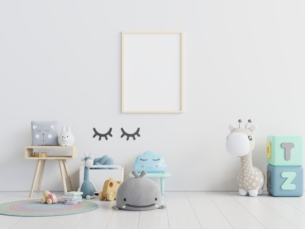 Плакаты в интерьере детской комнаты.
