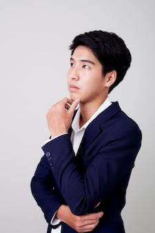 若いハンサムなビジネスの男の肖像