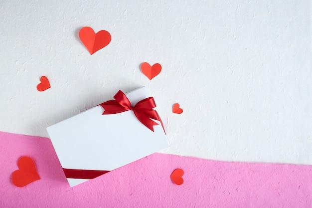 バレンタインのギフトボックスと心