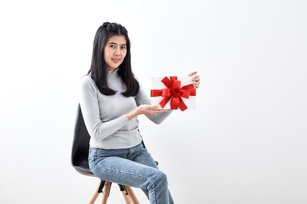 クリスマスの女の子のギフト