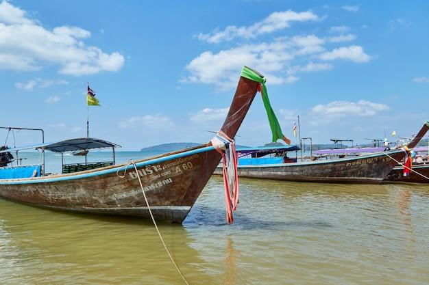 タイの休日美しいクラビの島