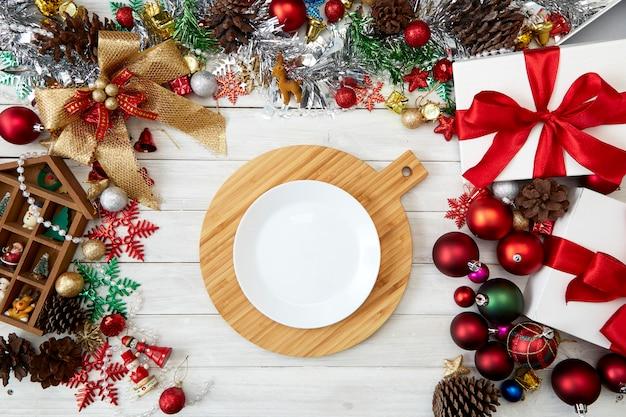 新年のクリスマスの背景