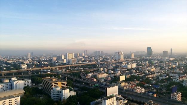 バンコク、タイの街並みの景色