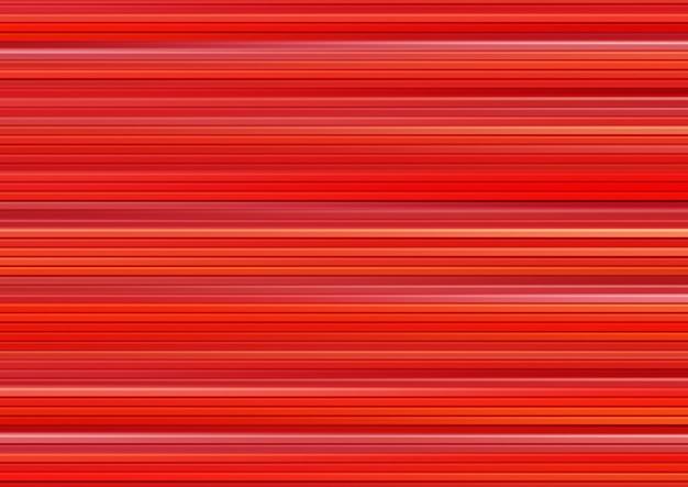 Красный абстрактный фон, эффект горизонтальной скорости движения