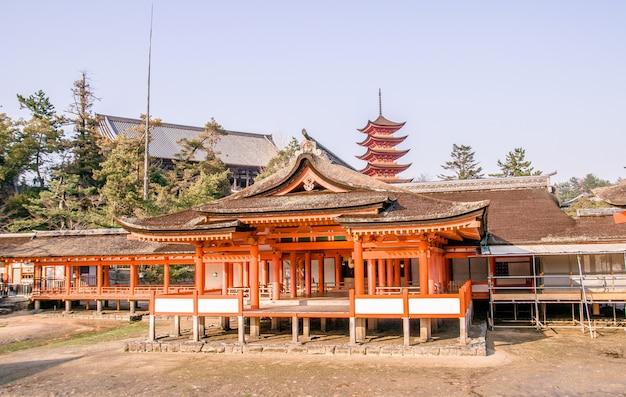 Храм ицукусима, миядзима, япония