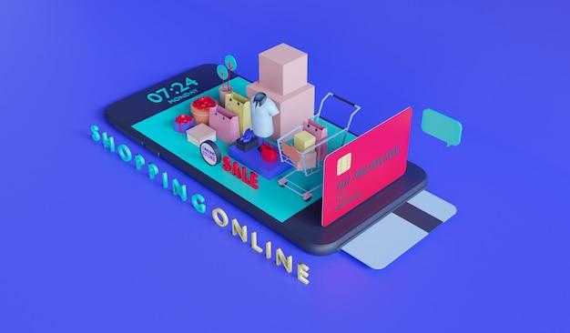 モバイルアプリケーションのオンラインストア