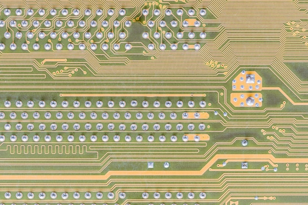 コンピュータに組み込まれた回路基板