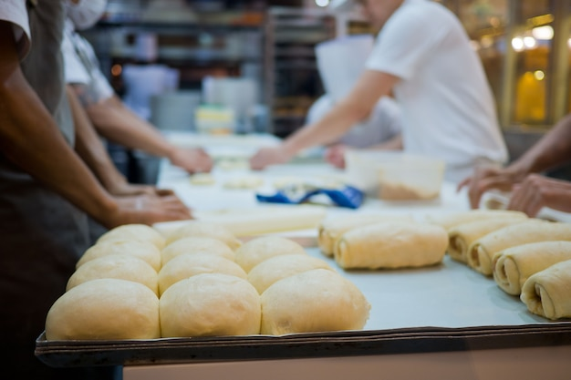 パン作り、パン作り