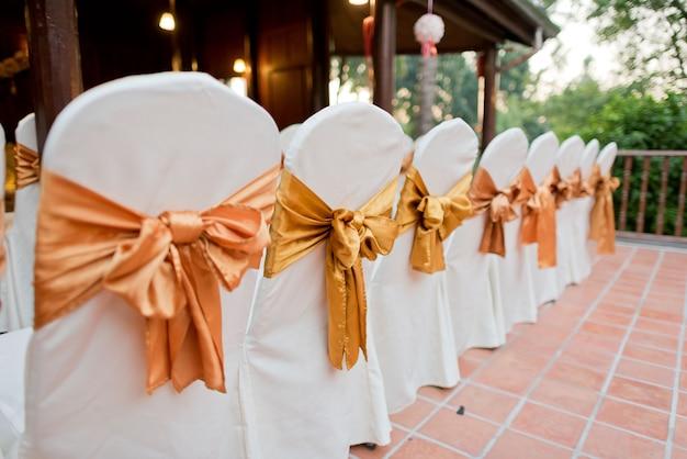 Украшение свадебного стула, стул для мероприятий