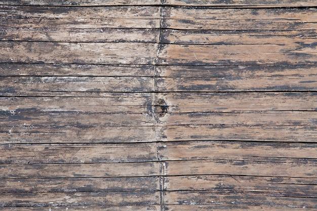 Закрыть старые стены бамбука для фона и текстуры