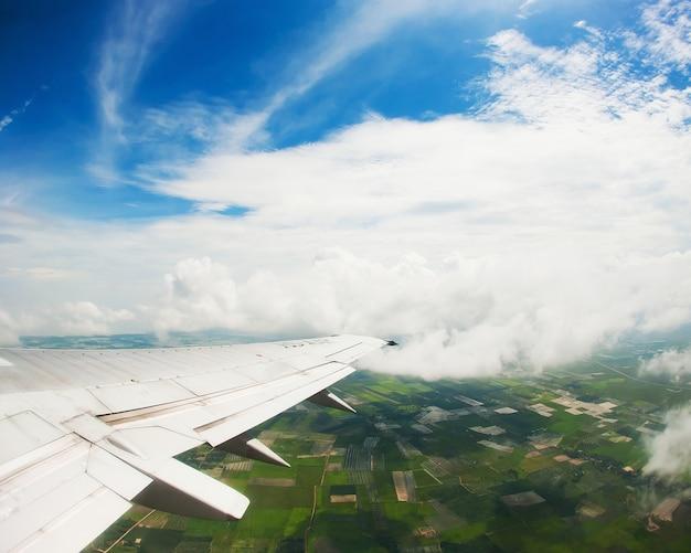 美しい空を持つ翼