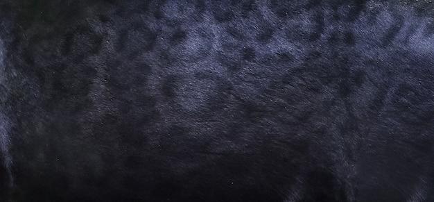 ブラックパンサーの肌のテクスチャの背景