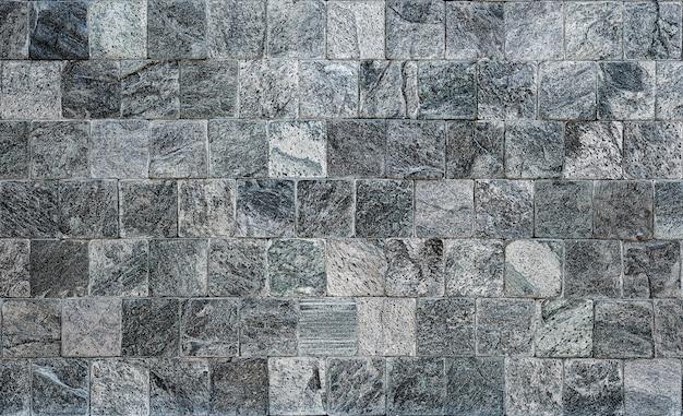 セラミックタイルと石の壁
