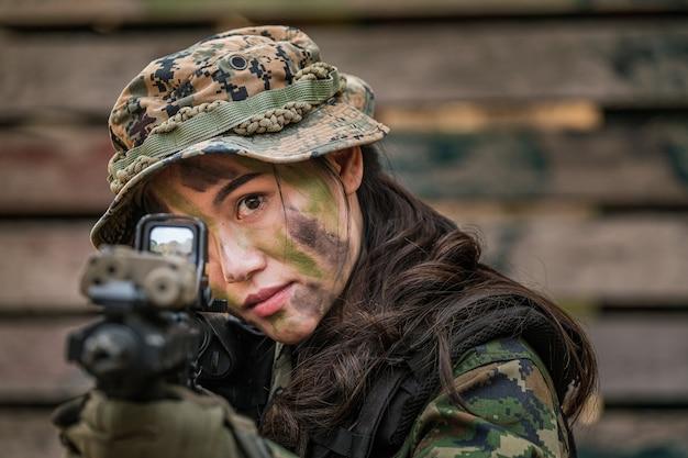 Рейнджеры армии таиланда во время военной операции