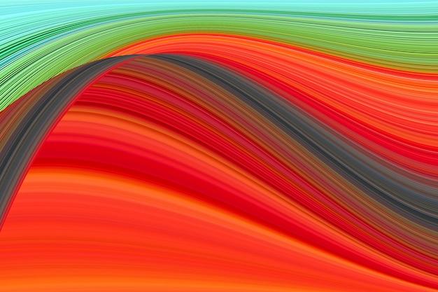 抽象的な線のカラフルな背景