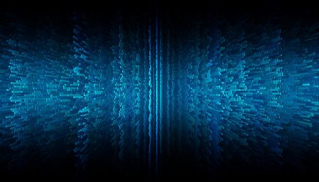 Синий пиксель абстрактный фон