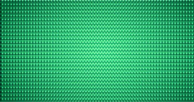 Светодиодный зеленый фон экрана кинотеатра