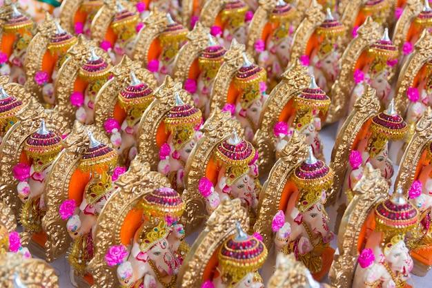 ヒンドゥー教の神ガネーシャのアイドル