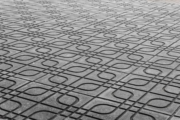 都市の石畳の道の背景テクスチャ