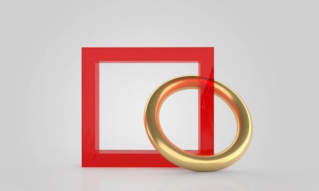 抽象的な形の最小限の抽象的な幾何学的形状