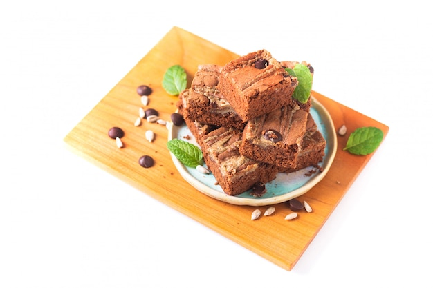 Концепция здорового питания домашние органические выдумки подсолнечника масло сливочное пирожные на белом фоне