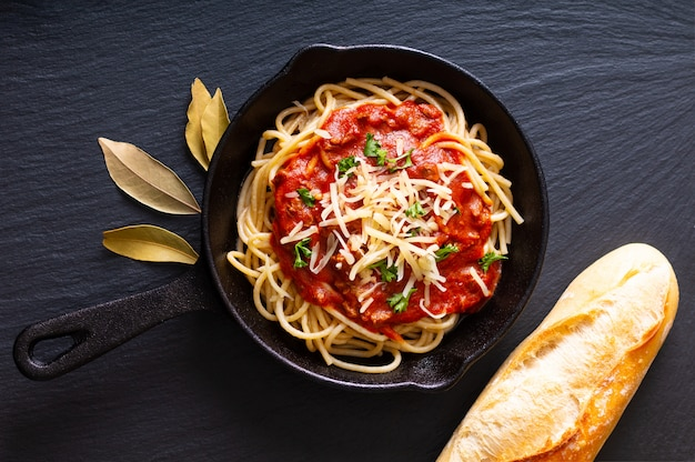 自家製スパゲッティボロネーゼ